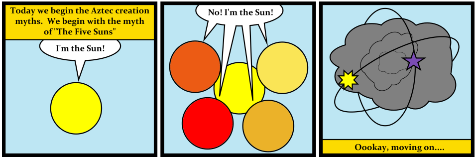 The Five Suns