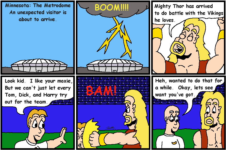 03 Thor Arrives