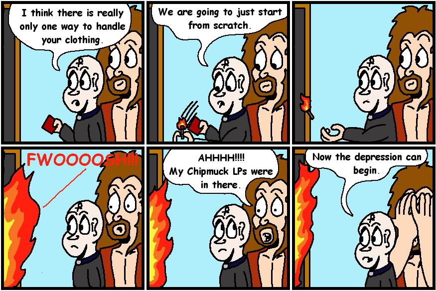 Begin Again In Fire