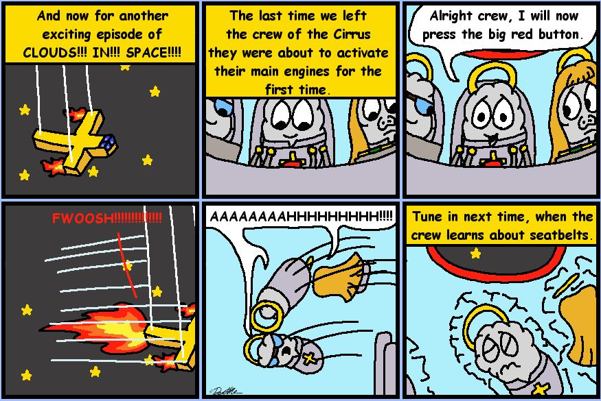 CLOUDS IN SPACE