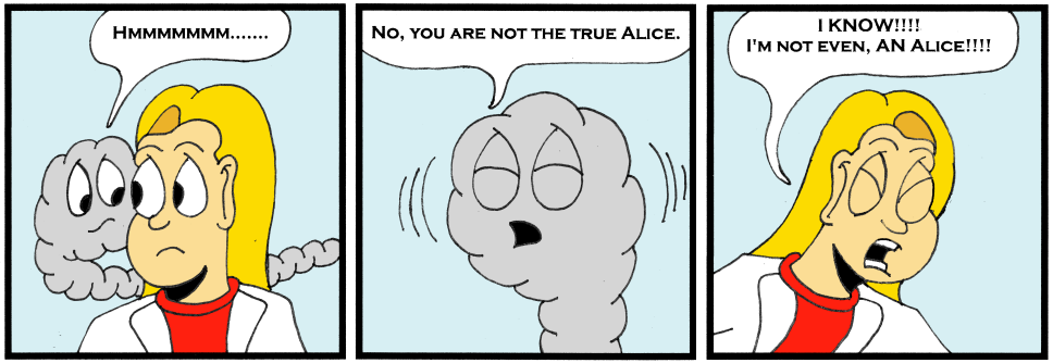 To Be Alice Or Not To Be Alice