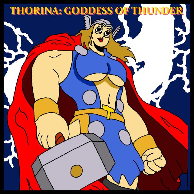 Thorina Goddess Of Thunder