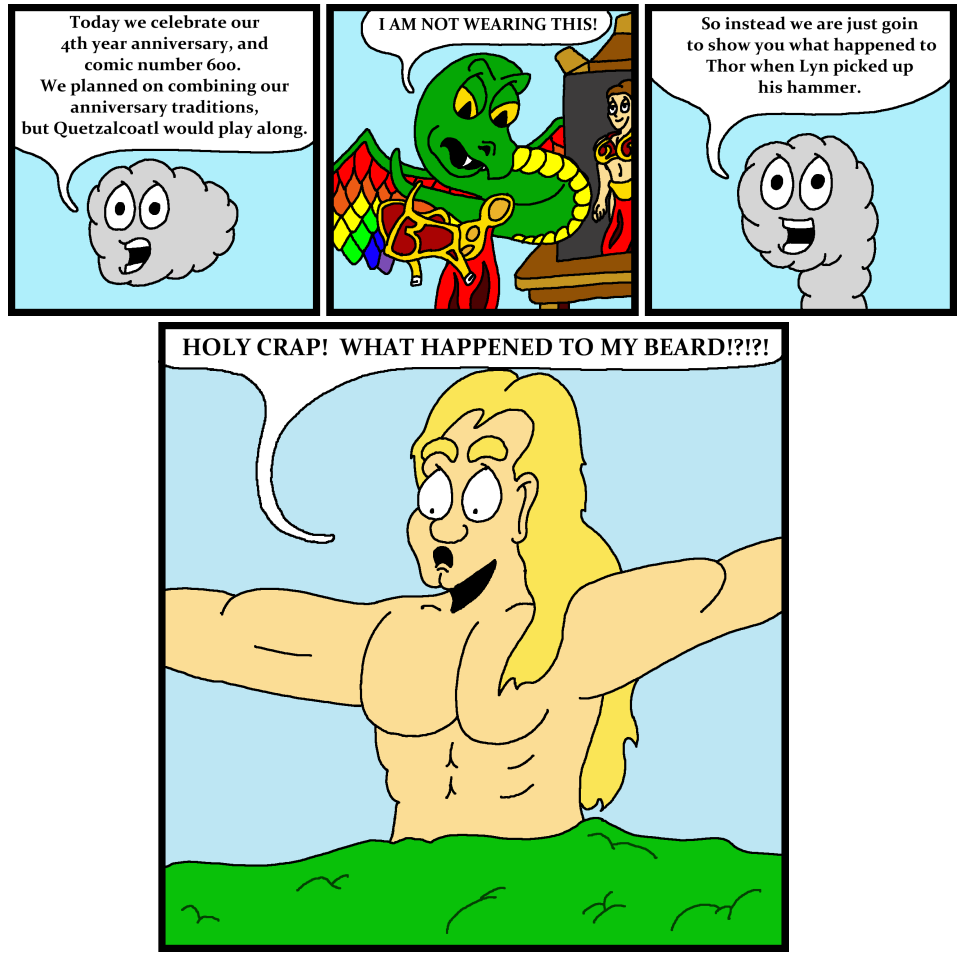 4th Anniversary Comic 600